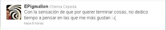 Twitter El Efecto Pigmalion 1